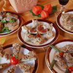 Présentation des pâtés et rillettes