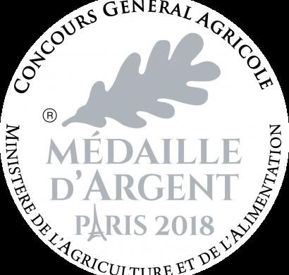 Medaille Argent 2018 RVB